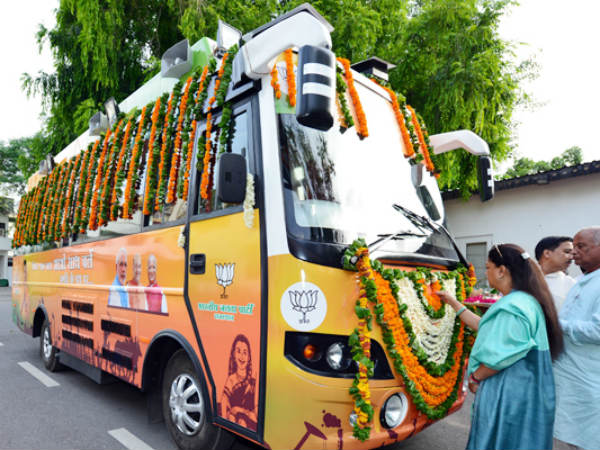 Vasundhara Raje to kick start her election campaign in a luxury bus