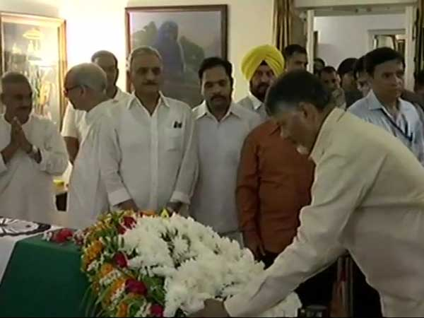 Vajpayee gave a new defintion to the politics:CM Chandrababu Naidu