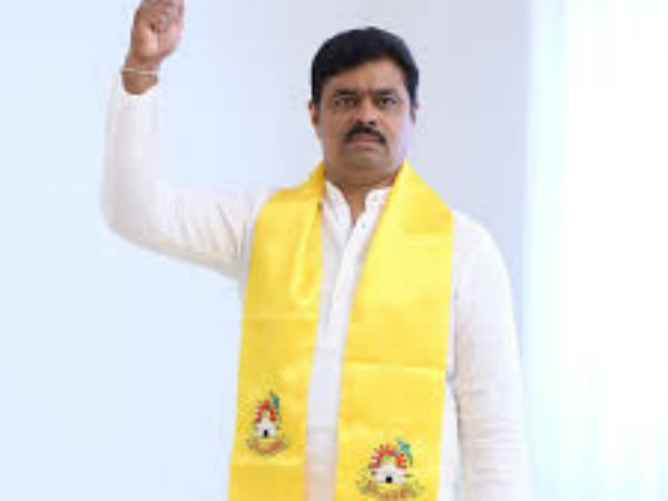 TDP leaders challenge to BJP MP GVL