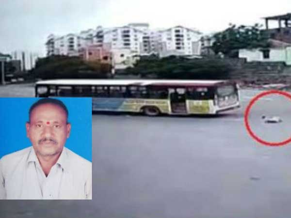 Conductor dies after falling from moving bus in Hyderabad