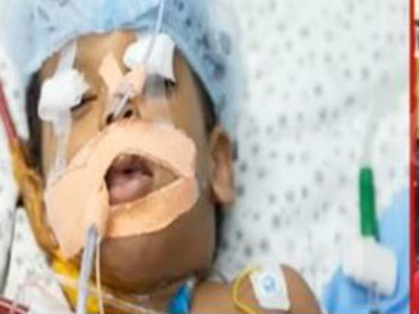 kid Hospitalised for Day Care Center Negligence at Madhura Nagar
