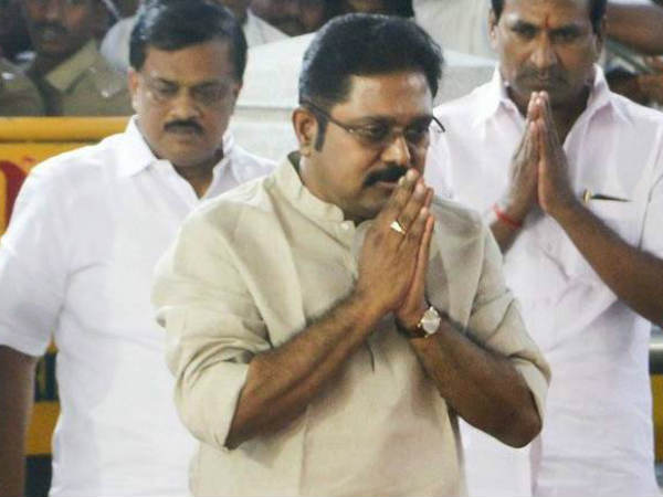 We are ready to alliance with Congress, says TTV Dinakaran