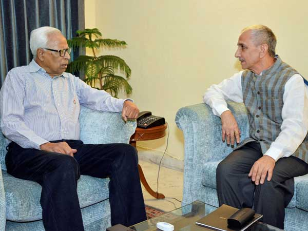 Dineshwar sharma and CAG Rajiv Mehrishi top contenders for the J&K governor post..?