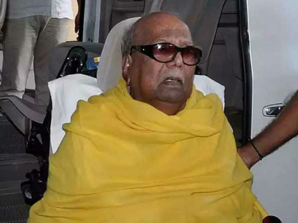 Karunanidhi no more, Live updates: Uncertainty Over Karunanidhi's Burial Site Continues, DMKs Plea for Marina Beach Adjourned Till 8amall
