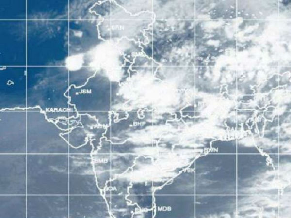 Depression in Bay Northwest Bay of bengal; rains pound Coasta, Rayalaseema