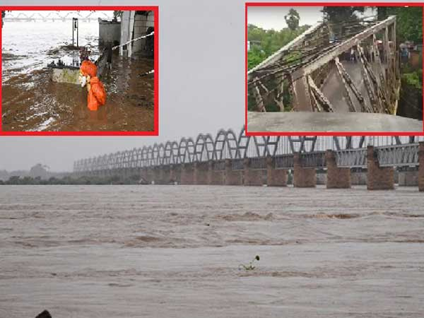Godavari reach danger mark: Threat at Cotton Barrage