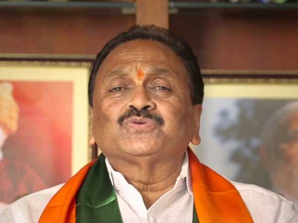 BJP MP Gokaraju says Chandrababu is state great leader