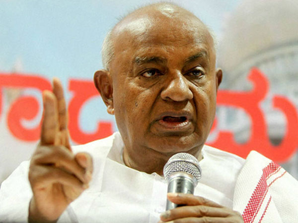 Nehru laid strong foundation for democracy, says H D Deve Gowda