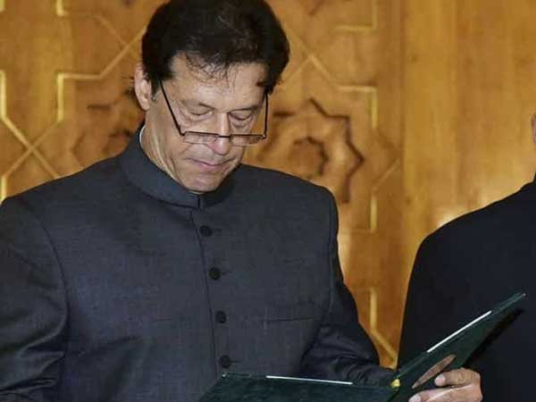 Imran Khan takes oath as 22nd Prime Minister of Pakistan