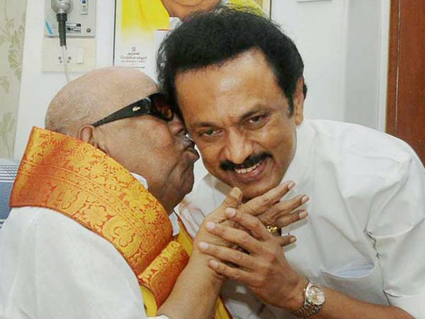 Can I call you Appa one last time my leaderStalin writes last letter to dad Karunanidhi