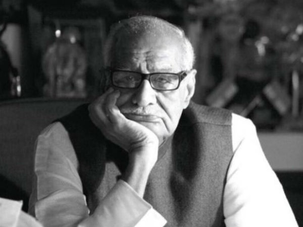 Veteran journalist Kuldip Nayar passed away at 95