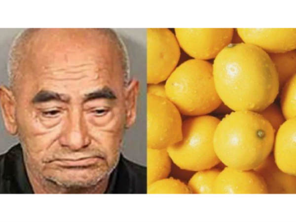 This thief got arrested for the most ridiculous reason, He stole 362 kilos of lemons!