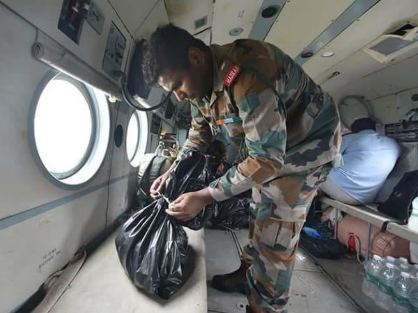 This Army major was on leave, but he performed his duties saving people in Kerala