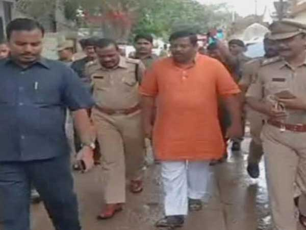 MLA Raja Singh House Arrest in Hyderabad