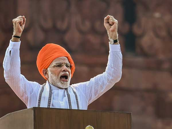15 August Independence red fort PM Narendra Modi speech live updates