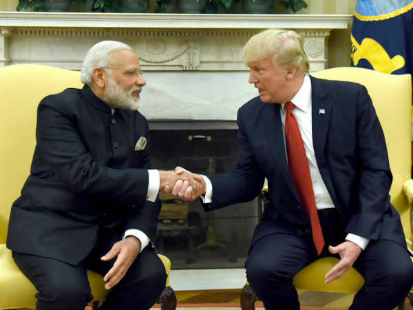 Trump Joked He Could Play Matchmaker Pm Modi Foreign Media