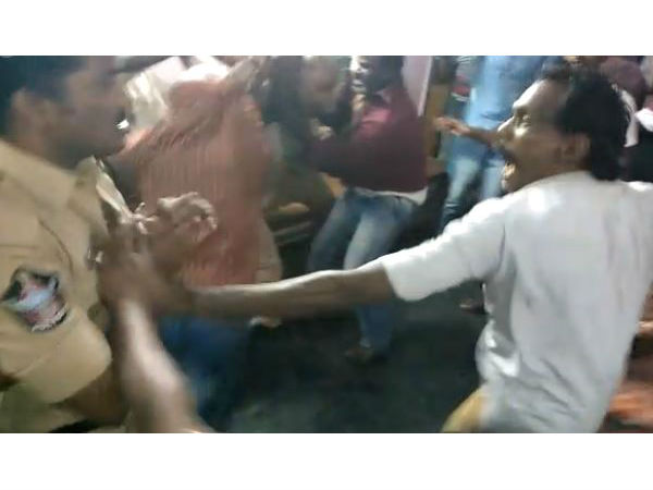 On Camera, Cops Beaten Up Inside Police Station In Andhra Pradesh