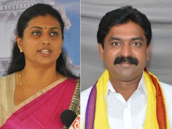 YSRCP MLA Roja knocks HC door, seeks action against TDP MLA