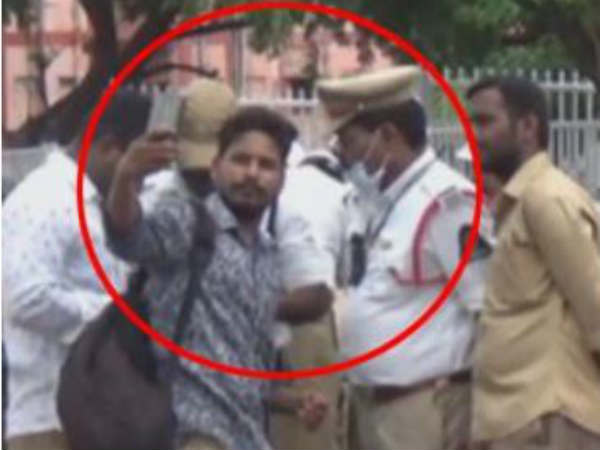 drunken youth shocked police with his behaviour in secunderabad