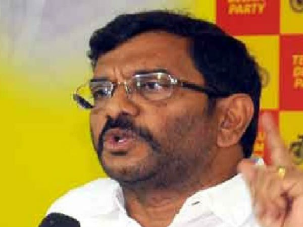 Minister Somireddy fire over Jagan