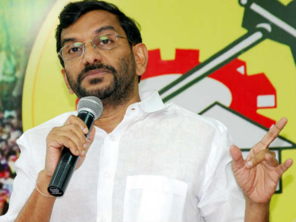TDP alliance with the Congress has not yet been discussed:Minister Somireddy Chandramohan Reddy