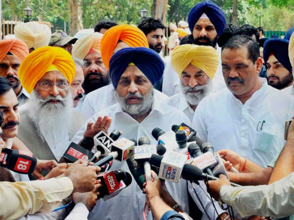 RS Deputy Chairman Election:BJP ally Shiromani Akalidal may abstain from voting