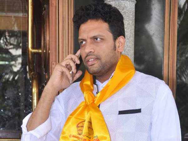 Chandrababu should contest from Kurnool ... MP TG Venkateshs son TG Bharat sensational comments