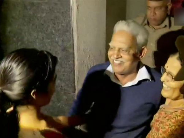 Activist Varavara Rao brought to Hyderabad