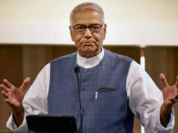 Yashwanth Sinha attacks govt, says all minesterial decisions taken by PMO