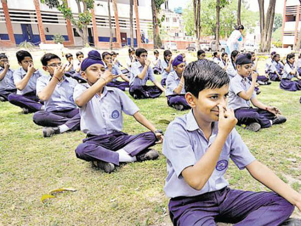 Introduce Yogic activities in schools from class 6 onwards,says NCERT