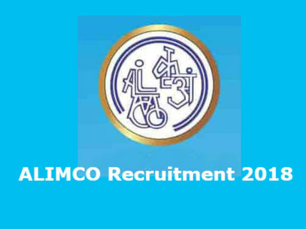 ALIMCO recruitment 2018 apply for 38 Various Vacancies