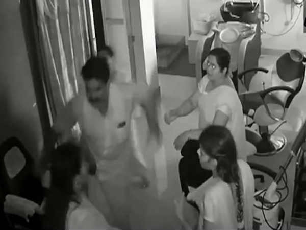 DMK Suspends Leader Seen On Video Kicking Woman In Beauty Parlour