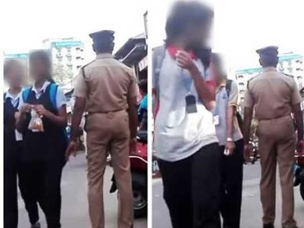 Kochi Home Guard Caught on Camera Touching Minors Inappropriately, Video Goes Viral