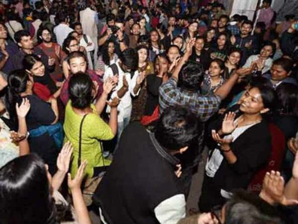 Clashes at JNU hours after students union poll results