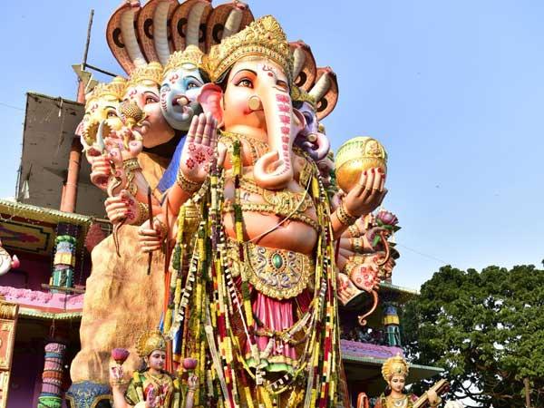 ఖైరతాబాద్ గణేషుడి నిమజ్జనం: ట్రాఫిక్ ఆంక్షలు- ఏర్పాట్లు ఇవీ, గూగుల్ సహకారం