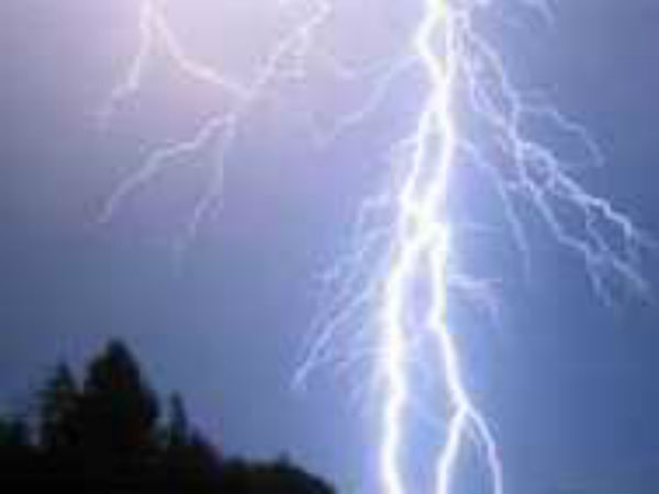 The possibility of falling thunderbolts in Andhra Pradesh
