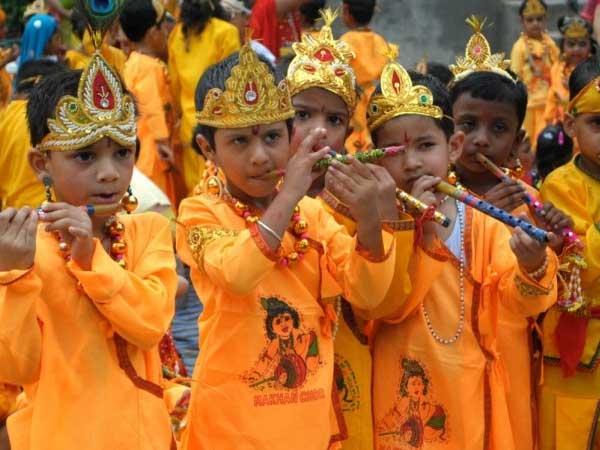 Krishna Janmashtami Nation Celebrates Birth Lord Krishna