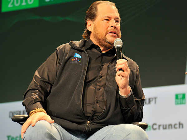 Salesforce Ceo Marc Benioff His Wife Are Buying Time Magazine