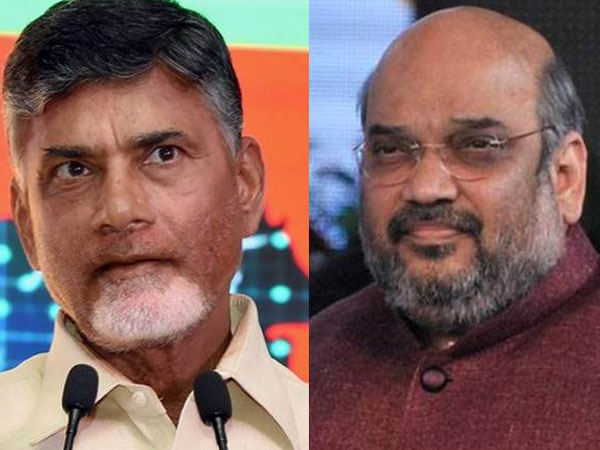 Chandrababu Naidu now allied with people who were playing vendetta politics against him: Amit Shah