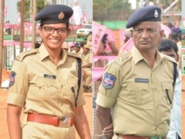 Father salute to Daughter: interesting in Pragathi Nivedana Sabha