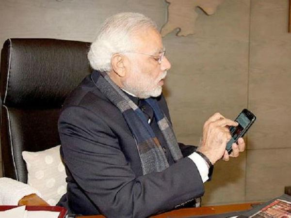 PM Narendra Modi also faces Call Drops problem