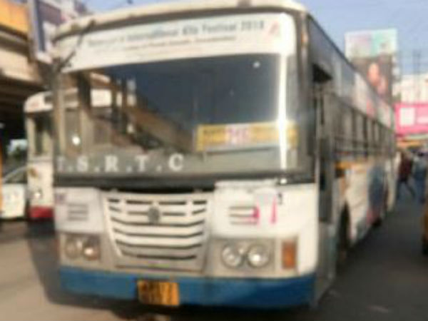RTC bus runs over 3 at Gachibowli bus stop in Hyd