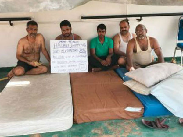 Eight Indian Sailors Stranded on Ship for 9 Months in UAE