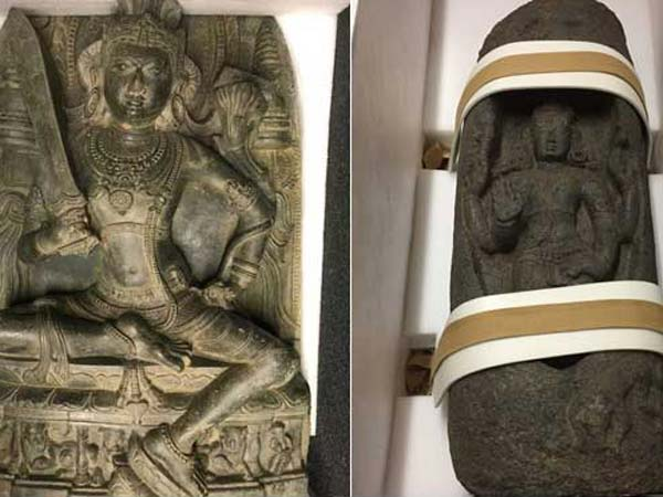 Two Antique Statues stolen from India being repatriated by US