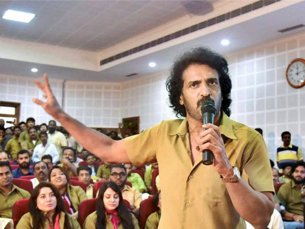 Kannada actor and director Upendra to announce a new party on September 18
