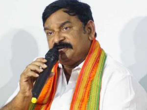 vishnu kumar raju on party changing issue