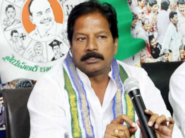 Chandrababu doesnt care Brahmins:YCP MLA Kona Raghupathi
