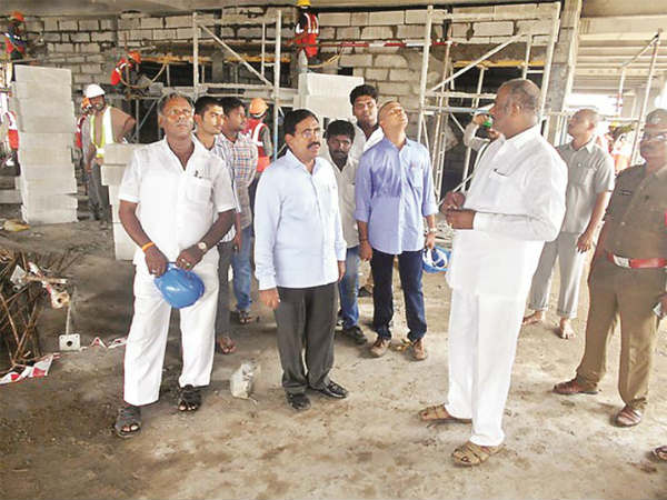 Amaravathi City construction for all...Civil court building will complete soon:Minister Narayana