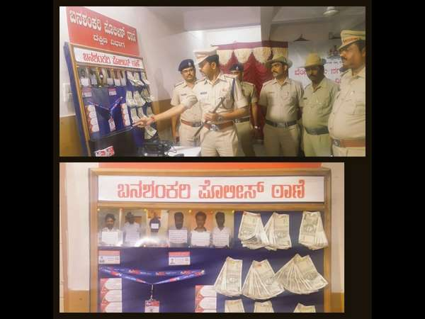 Banashankari police have arrested six persons including a news channel owner