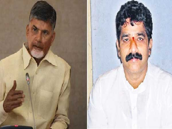 If that happened, I and DGP would have to be guilty:CM Chandra babu